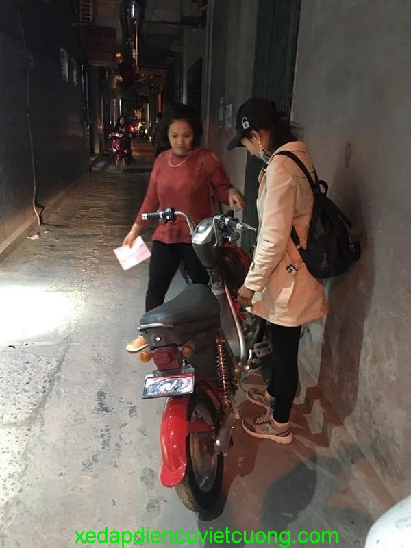 Xe đạp điện cũ Việt cường