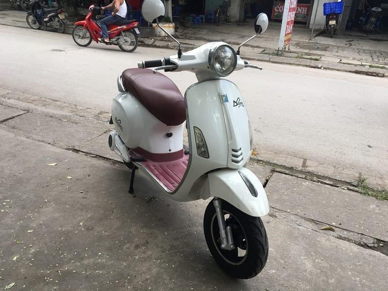 Xe máy điện Vespa Dibao Màu trắng cũ