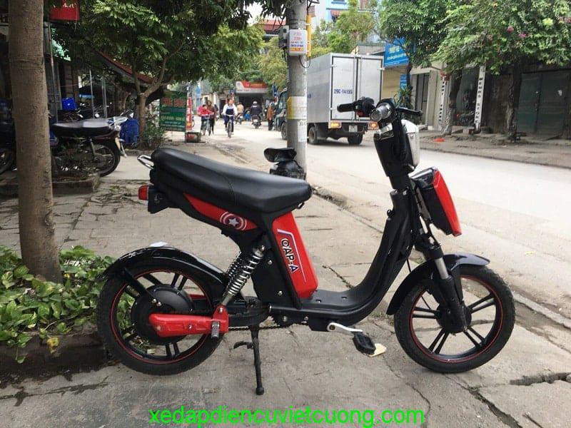 xe đạp điện Cap A chính hãng, bình chạy tốt