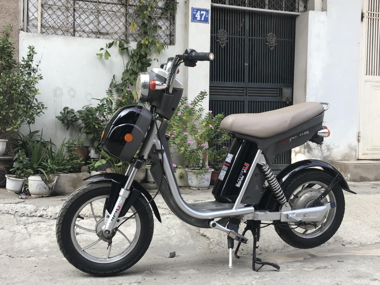 xe đạp điện nijia phanh cơ cũ