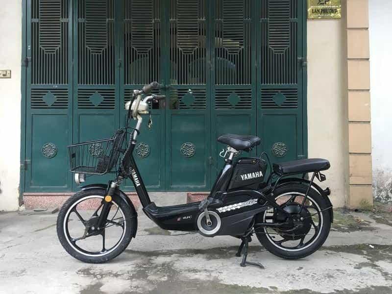 Xe đạp điện cũ tại Thạch Bàn - Long Biên