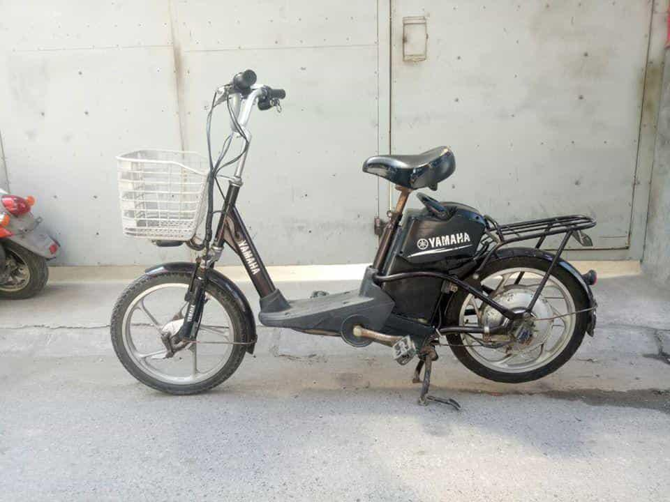 xe đạp điện yamaha cũ giá rẻ tại hà nội