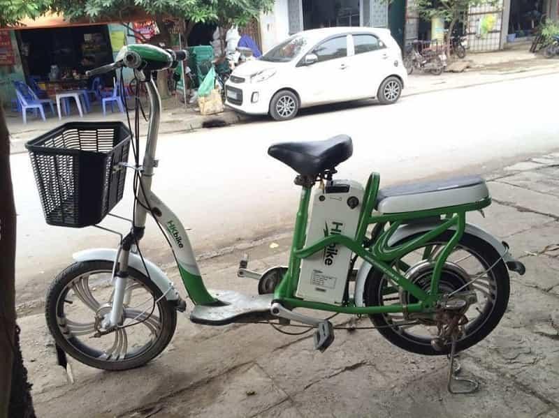 xe đạp điện cũ tại Quảng An - Tây Hồ - Hà Nội