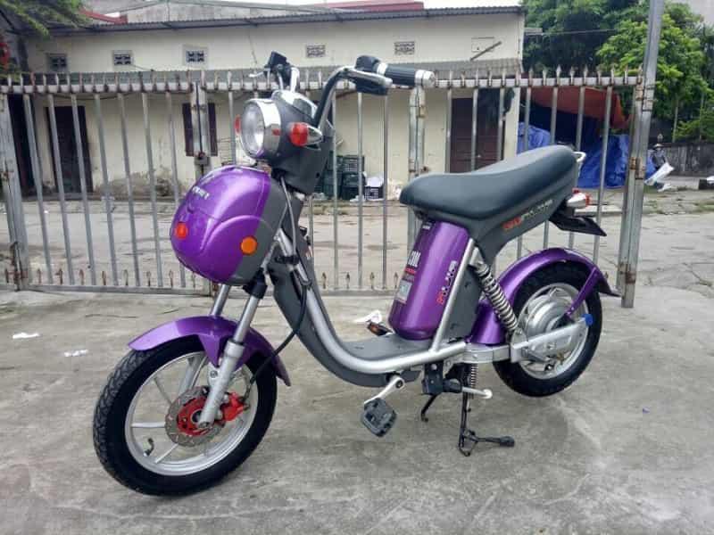 Xe đạp điện nijia đĩa